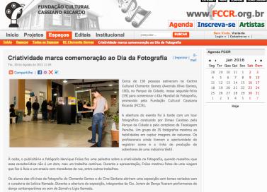 Dia da Fotografia | FCCR