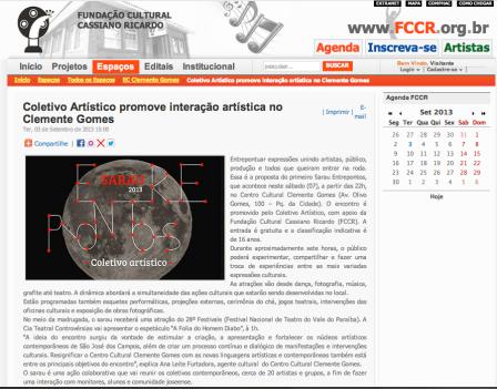 Entrepontos | FCCR
